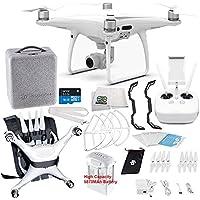 DJI Phantom 4 PRO Quadcopter Drone Starters Travel Pro Backpack Bundle Starter Pack