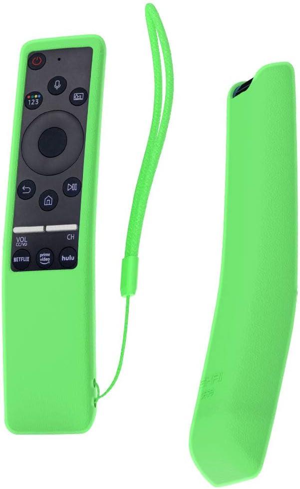 SIKAI Funda Compatible con Mando de Samsung UHD 4K Smart TV Bluetooth Remote Control RMCSPR1BP1 / BN59-01312A Antideslizante Protectora (Luminoso Verde): Amazon.es: Electrónica