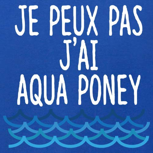 Unisexe Peux Bleu Pas 12 Couleur Aqua Royale J'ai Poney Je Pull gXpqq
