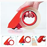 Abaj Stainless Steel Packaging Tape Cutter Roll Dispenser (2.5 Inch Tape),Color May varry