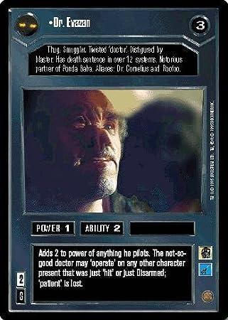 Amazon.com: STAR WARS CCG DS PREMIER LIMITED DR EVAZAN 10R2: Toys ...
