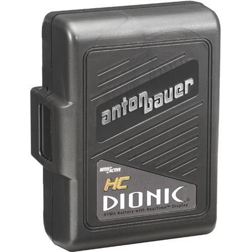 Anton Bauer Dionic HC Digital Interactive Lithium-Ion Battery, 14.4 volts, 91 watt hours