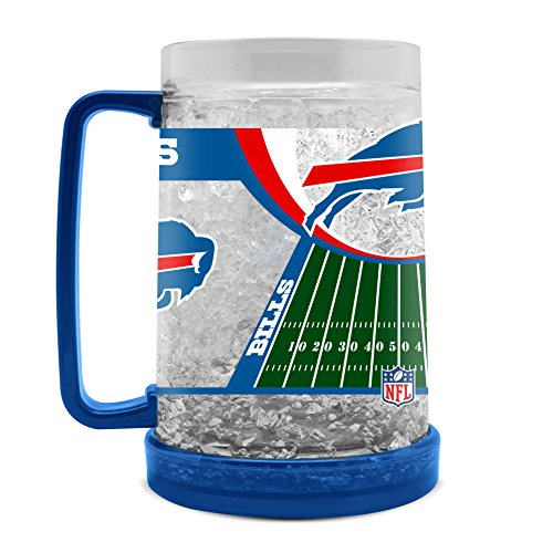 NFL Buffalo Bills 16oz Crystal Freezer Mug