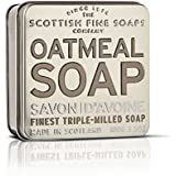 The Scottish Fine Soaps Company Exfoliating Oatmeal Soap in a Tin (100g)