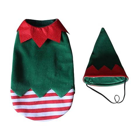 vanpower Disfraz de Navidad para Perro, Gato o Mascota, para ...