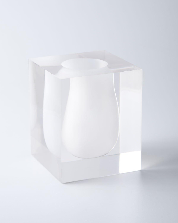 Jonathan Adler - Scoop Vase - Bel Air - Clear