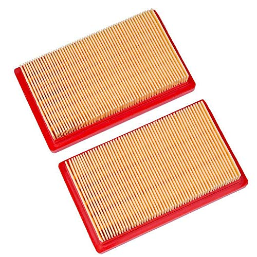HEYZLASS 2 Pack 951-10298 Air Filter, Replace for Cub Cadet 751-10298 Kohler 14 083 01-S MTD 11A 12A Series Lawn Mower OEM Air Cleaner, 5-5/8