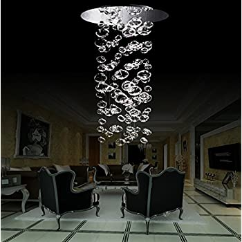 Siljoy modern bubble glass chandelier lighting for stairs living siljoy modern bubble glass chandelier lighting for stairs living room foyer entryway d20 40 aloadofball Images