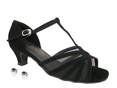 39726af1e Amazon.com | Very Fine Ladies Women Ballroom Dance Shoes EK16612 with 1.3