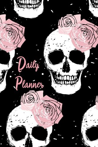 Daily Planner Pink Skulls product image