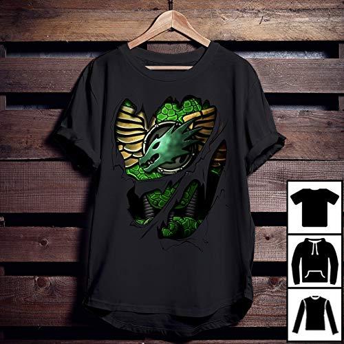 - Warhammer 40k Salamanders Armor T-Shirt