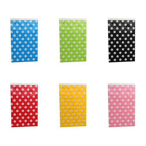 MonkeyJack 6pcs Plastic Disposable Polka Dot Table Cloth Table Runner Wedding Party
