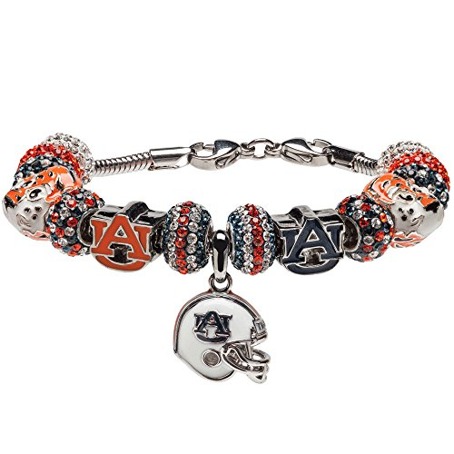 Auburn Tigers charm bracelet |