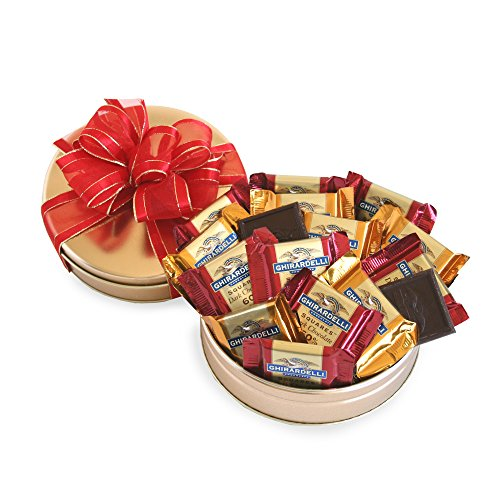 California Delicious Ghirardelli Galore Gift Tin - Holiday Gift Tin