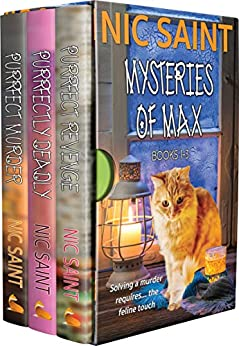 The Mysteries of Max: Books 1-3 (The Mysteries of Max Box Sets Book 1) by [Saint, Nic]
