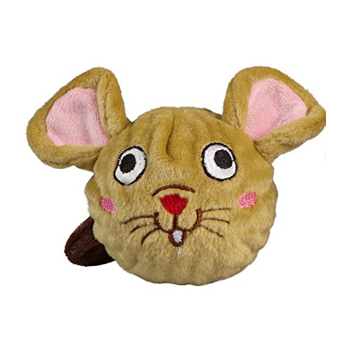 Image of fabdog Mouse faball Squeaky Dog Toy (Small)