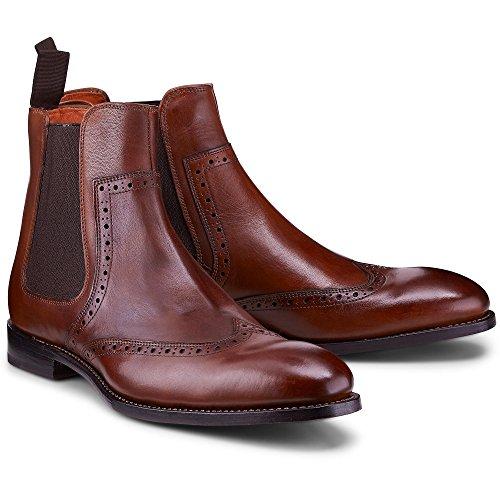 Ludwig Görtz Mannen Chelsea-boot Bruin-medium