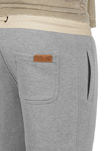 Pantalon Tripshorts En 8242 Sweat Doublure Jogging Bermuda solid Polaire Court Pour Light Melange Homme Grey Short SgYdp4gq