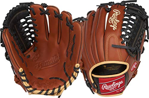 - Rawlings Sandlot Series Leather Modified Trap-Eze Web Baseball Glove, 11-3/4