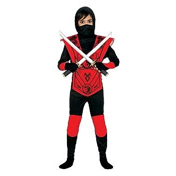 NET TOYS Disfraz Infantil de Ninja Traje Guerrero Ninja niño S 116 ...