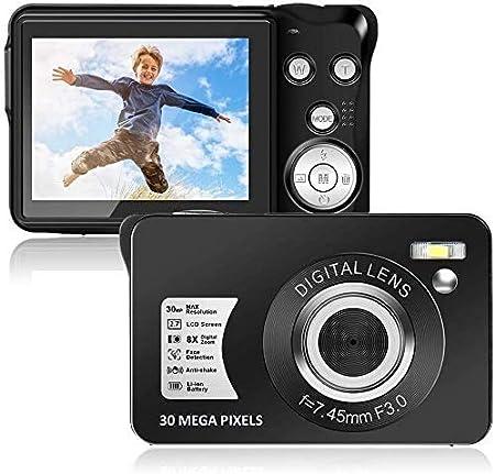 Digitalkamera 30mp 1080p Mini Kamera Videokamera 8x Kamera