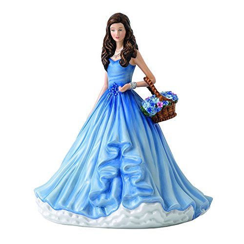 Royal Doulton 40021827 Language of Flowers True Love (Forget-Me-Not) 8.9