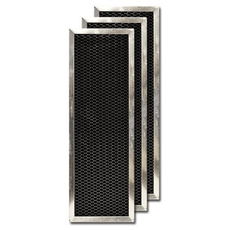 - Activated Carbon Filter for Goodman/Five Seasons Air Cleaner 1856-3, 3-Pack