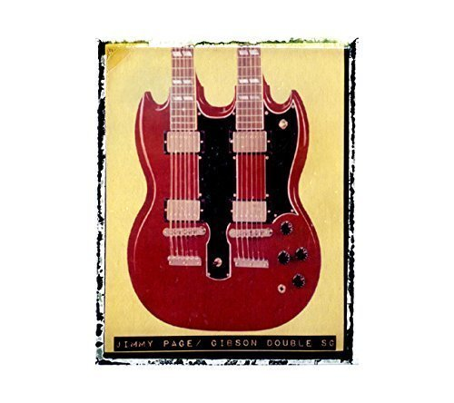 Jimmy Page Led Zeppelin Gibson SG Guitar art music print / Guy Gift / Rock n roll art / music gift idea