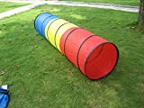 Roadacc (TM) 6.6 Feet Straight Children's Playing Tunnel Colorful Tube for Kids.