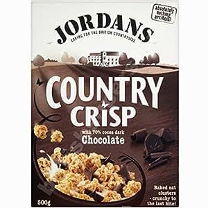 Chocolate Jordan Dark Country Cereal crujiente 500g