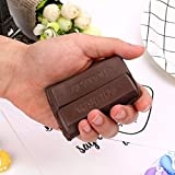 AMA(TM) Simulation Chocolate Squishy Slow Rising Squeeze Toy Scented Decompression Toys Kids Fun Joke Toy Christmas Gifts (Coffee)