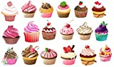 Food and Drinks Collection (Cupcake Temporary Tattoos)