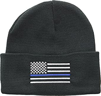 Amazon.com  Army Universe Thin Blue Line USA American Flag Support ... 4ff608f094