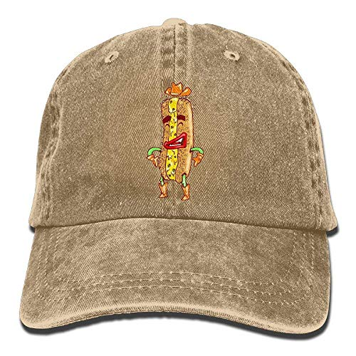Hat Hot Dog Denim Skull Cap Cowboy Cowgirl Sport Hats for Men Women