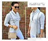 Style Arc Sewing Pattern - Kendall Knit Top