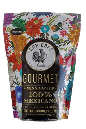Cap Café, Grano Gourmet, 500 gramos