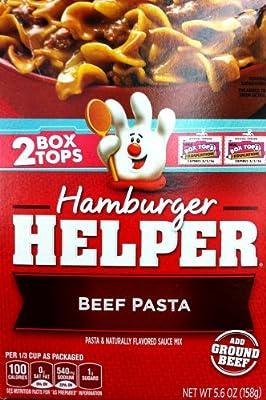 Betty Crocker BEEF PASTA Hamburger Helper 5.6oz (2 Pack)