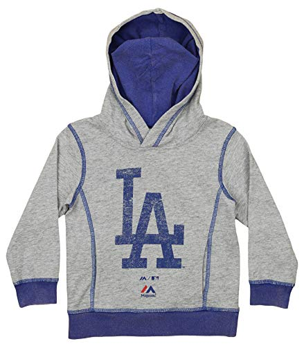 Outerstuff MLB Toddler (2T-4T) City Heritage Distressed Hoodie, Los Angeles Dodgers - Hoodie Heritage American