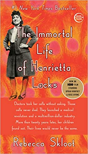 Image result for immortal life of henrietta lacks book