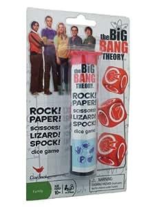 Big Bang Theory Rock Paper Scissors Lizard Spock Game