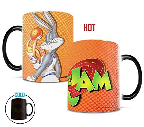 Space Jam - Bugs and Lola - Morphing Mugs Heat Sensitive Mug - Color Changing Heat Reveal Coffee Mug - by Trend Setters Ltd.