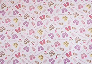 Christening Gift Wrap for a Baby Girl including gift tag/s. Luxury ...