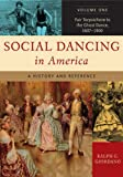 Social Dancing in America, Ralph G. Giordano, 031333756X