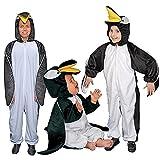 Dress Up America Baby Penguin, White/Black, 6-12 Months