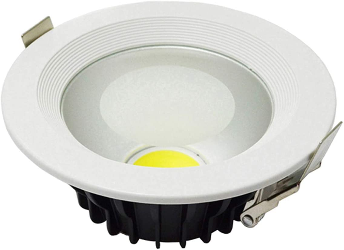 30W Non-dimmable, Cool White 10PCS Warranty 3 Years Thick Housing 100-110LM//W 30W 20W 15W 12W 7W LED Downlight COB LED Down Light Dimmable Recessed Ceiling Bulb Spot Lighting