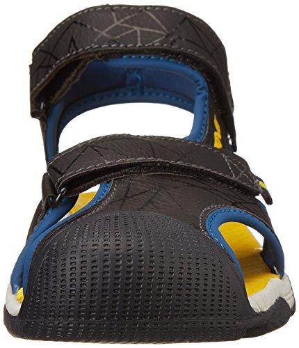 Teva C Toachi 3 - Sandalias deportivas de material sintético para niño azul - Bleu (Navy/Yellow)