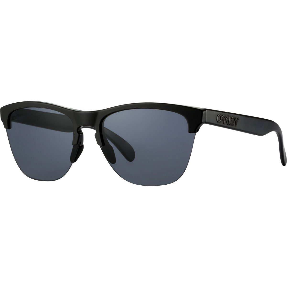Oakley Frogskins Lite Sunglasses, Matte Black/Gray,OS