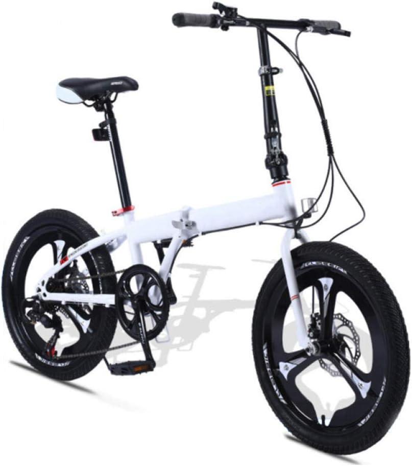 KNFBOK Bicicleta Trek Bicicleta Plegable súper Ligera para Mujer ...