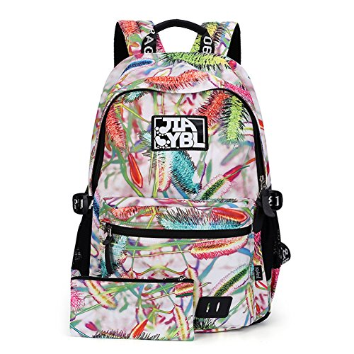 Impreso bolso de hombro, mochila secundaria junior-C A