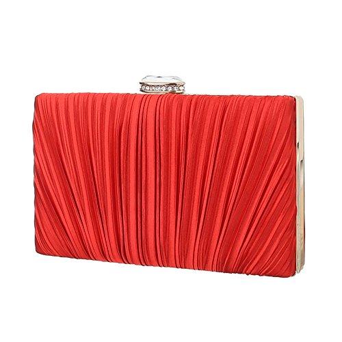 Ital-DesignAbendtasche Bei Ital-design - bolso de noche Mujer rojo